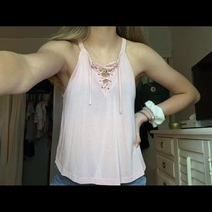 Super cute pink Forever 21 tank!